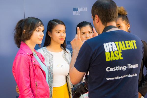 UFA Talentbase Film- und TV Casting Show