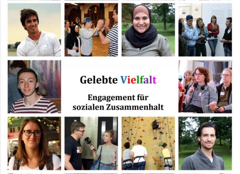 Kolage: Jugendgipfel 2019 - Gelebte Vielfalt