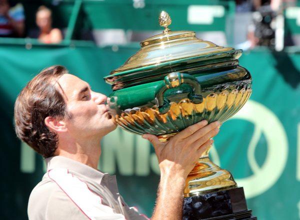 Roger Federer gewinnt gegen David Goffin