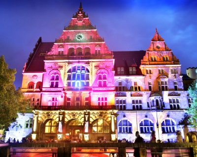 Bielefelder Nachtansichten diesmal im Spätsommer