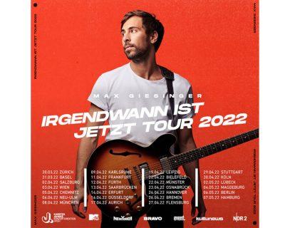 """""""Irgendwann ist Jetzt"""" Tour 2022 im Bielefelder Lokschuppen"""