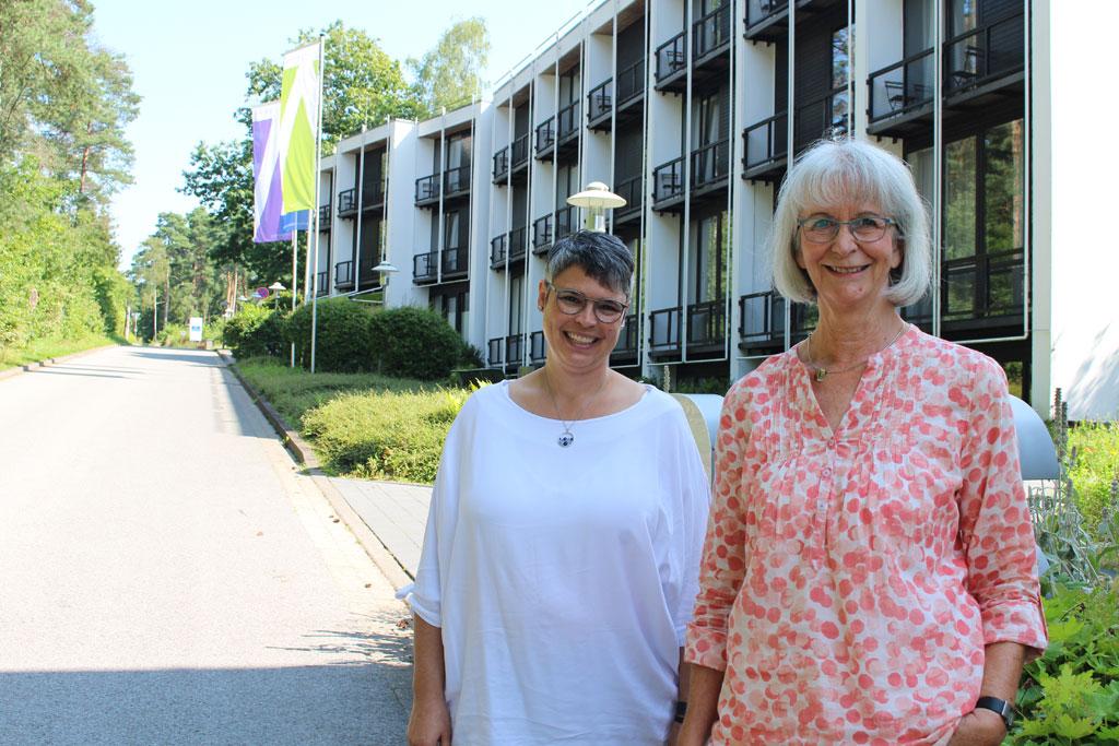 Monika Hansel und Kerstin Schalles